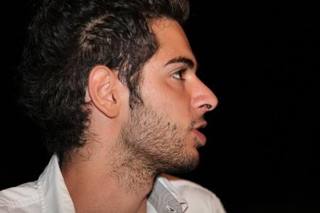 pretty boy on the night