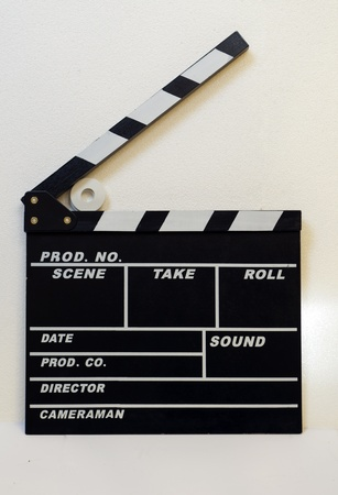 ciack for cinema and tv Stock Photo