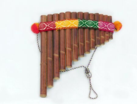 do re mi: pan flute Stock Photo
