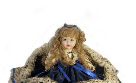 doll blue Stock Photo - 18044057
