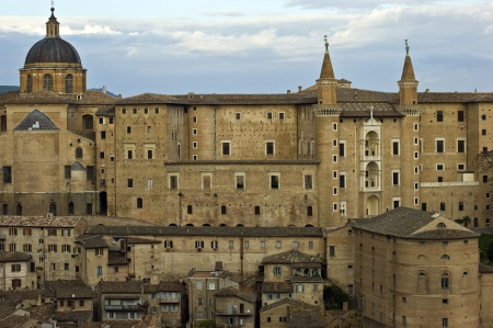 Ducal Palace in Urbino Editorial