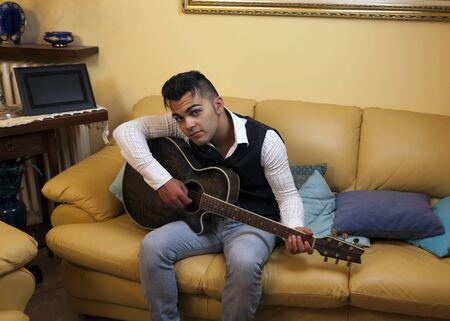 pentagramma musicale: chitarra