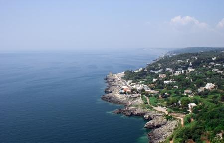 coast of Salento Stock Photo
