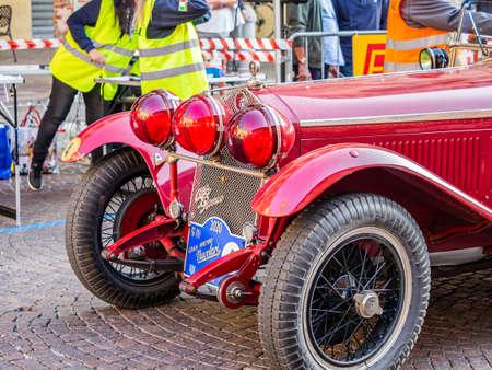 Meldola, Emilia Romagna - Italy 20 September 2020. the Nuvolari Grand Prix took place, the historic international race for FIA regularity, a great ACI-SPORT event.