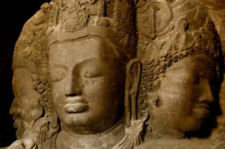 prana: Statue on Elephant Island, near Mumbai