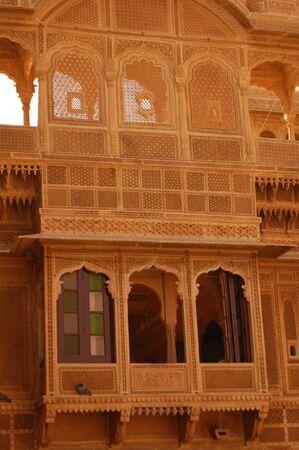 medioeval: architecture in jaisalmir