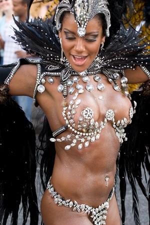 notting: Bailar en la London Notting Hill Carnival, 2007