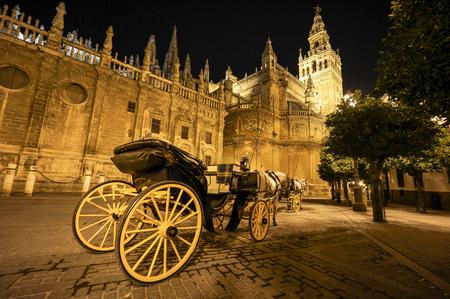 sevilla: Cathedral Sevilla Stock Photo