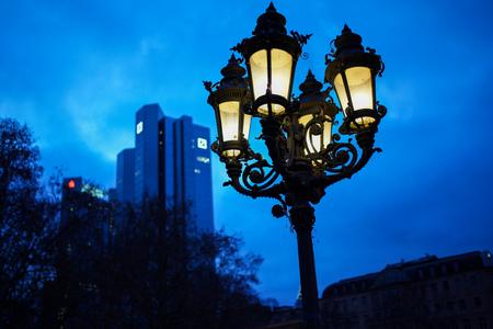 Lantern in Frankfurt