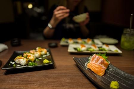 Sushi in Fukuoaka, Japan