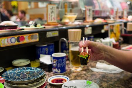 Japans eten in Kagoshima Stockfoto