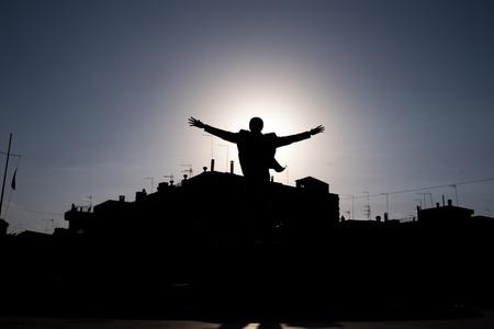 Polignano statue of man