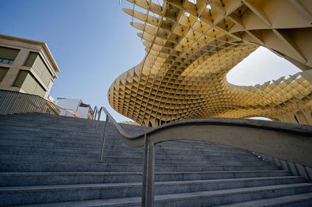eggtray: Metropol Parasol in Sevilla