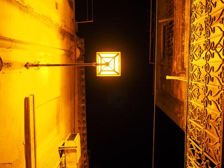 ortigia: Siracusa streets at night Stock Photo