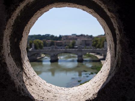 Blick von Castel SantAngelo in Rom