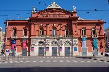 Teatro Petruzzelli, Bari Lizenzfreie Bilder