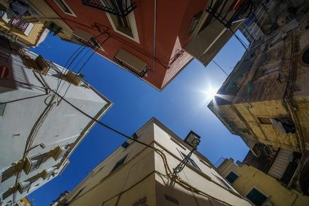 Bari houses Stock Photo