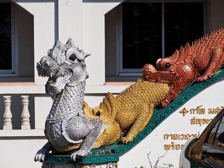 Thailand temple statue