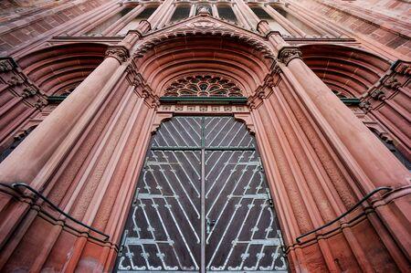Kathedrale Tür