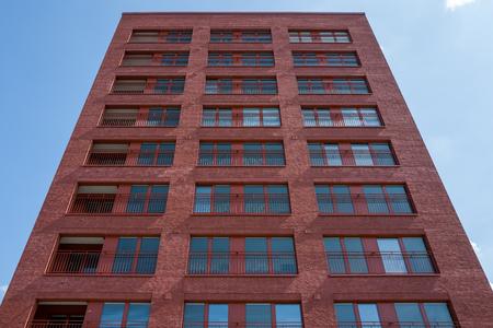 Rotgebäude in Frankfurt