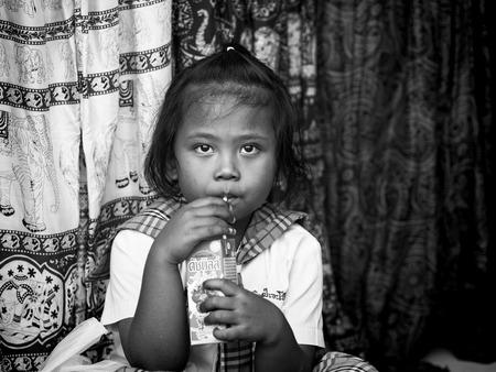 Thai girl in drinks