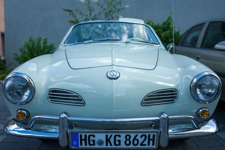 Classic VW Karman car