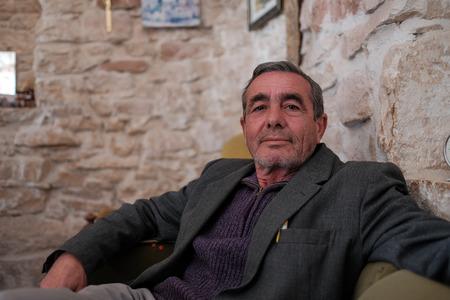 Man in Alberobello Editorial