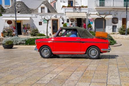 classic car in Alberobello