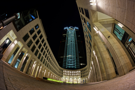 Tower 185 in Frankfurt Editorial