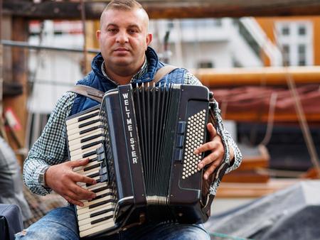 Musician in Copenhagen