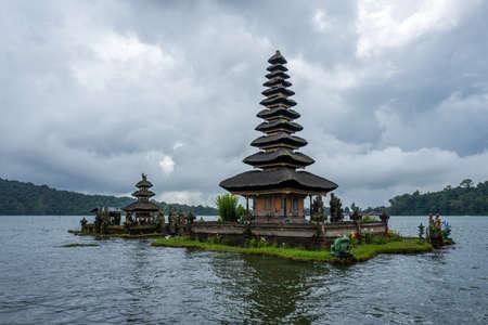 The Pura Ulun Danu Beratan Bedugul Temple in Bali