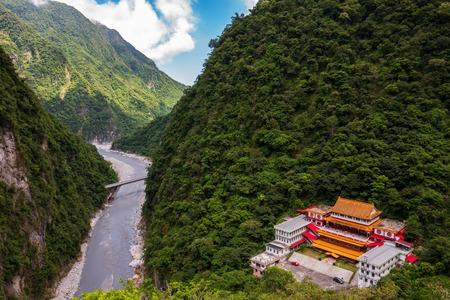 The Changchun Trail at Taroko Gorge National Park in Taiwan