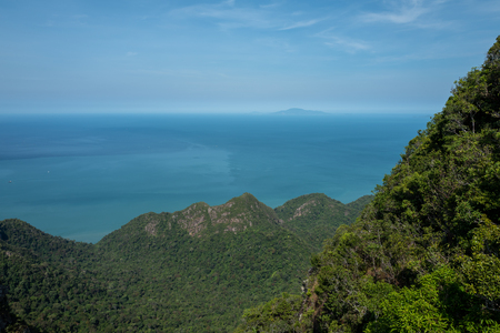 View from the top of the Langkawi Sky Cab area