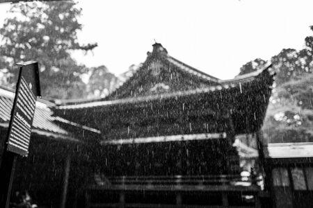 The Nikko shrine area in Japan