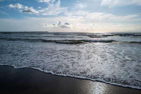 A view over the coast of viareggio