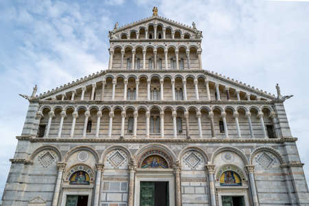 The cathedral in Pisa, Italy