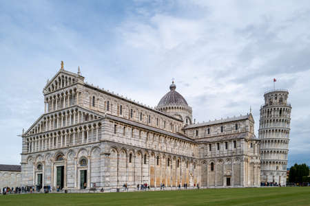 The leaning Tower in Pisa Archivio Fotografico