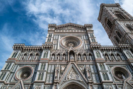 The Santa Maria del Fiore cathedral in Florence