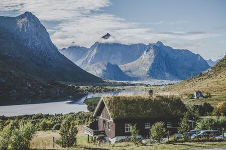 Views of Lofoten islands and around, in Norway