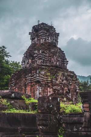 Views of My Son Sanctuary in Hoi An, Central Vietnam
