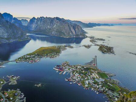 Reine is the administrative centre of Moskenes Municipality in Nordland county, Norway.