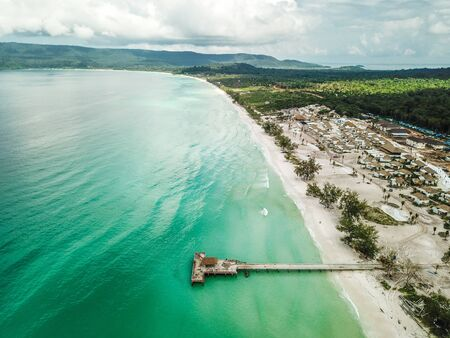 Koh Rong is an island in the Sihanoukville Province of Cambodia.