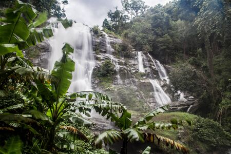 Mae Waterfall in Chiang Mai in Thailand