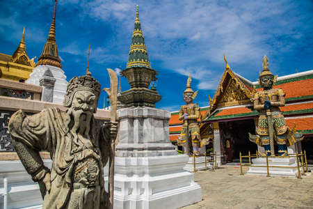 Grand Palace views in Bangkok in Thailand Reklamní fotografie