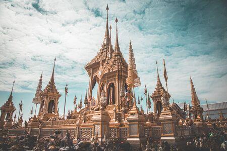 Royal Crematorium King Bhumibol in Bangkok Thailand