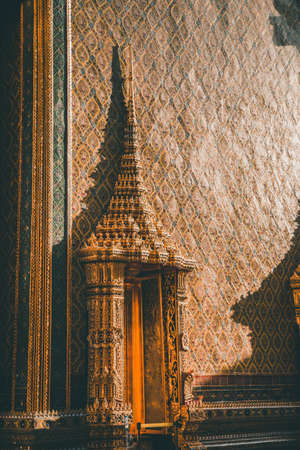 Wat Ratchabophit Sathitmahasimaram temple in Bangkok, old Town, Thailand