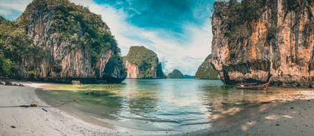 Koh Lao Lading paradise beach, island in the Andaman Sea between Phuket and Krabi Thailand