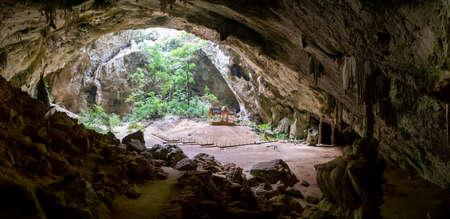 Phraya Nakhon Cave, Khua Kharuehat pavillion temple in Khao Sam Roi Yot National Park in Prachuap Khiri Khan, Thailand