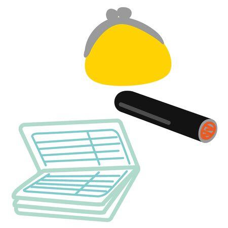 Passbook Seal Wallet