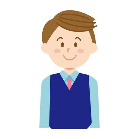 young male company employee Stok Fotoğraf - 131270847